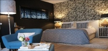 Bed and Breakfast luxe kamer begane grond in Ommen